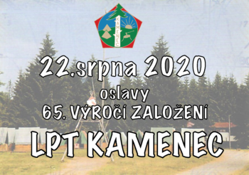Tábor KAMENEC a jeho významné výročí 65. let existence